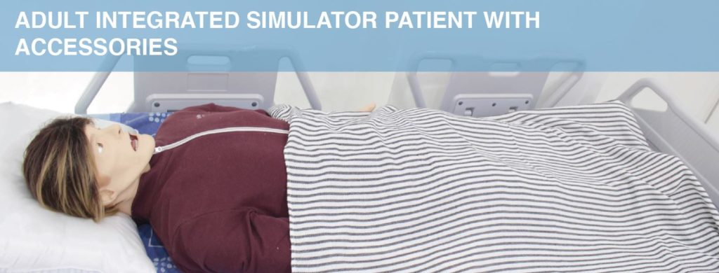 Adult Integrated Simulator Patient with Accessories