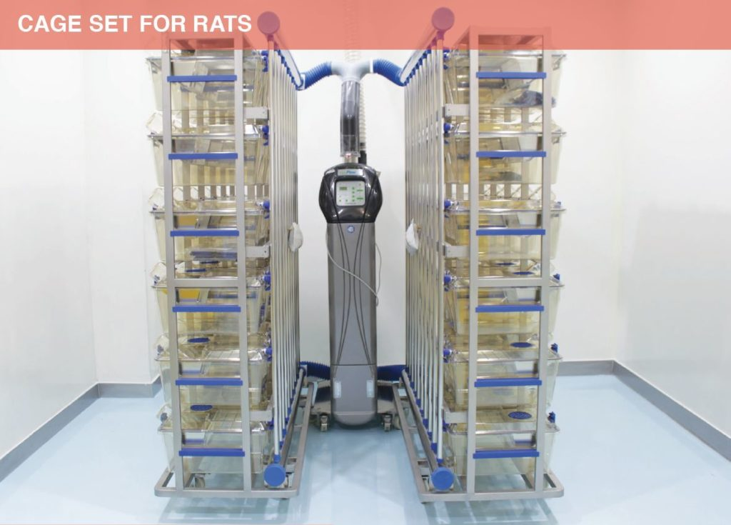 Cage Set for Rats