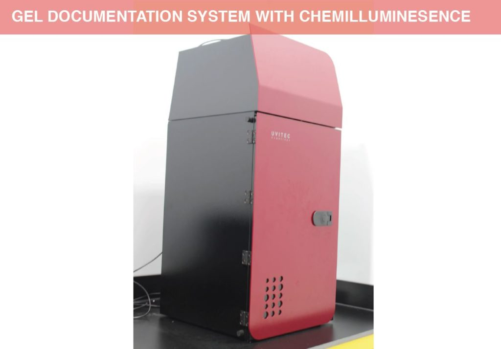 Gel Documentation System with Chemilluminesence