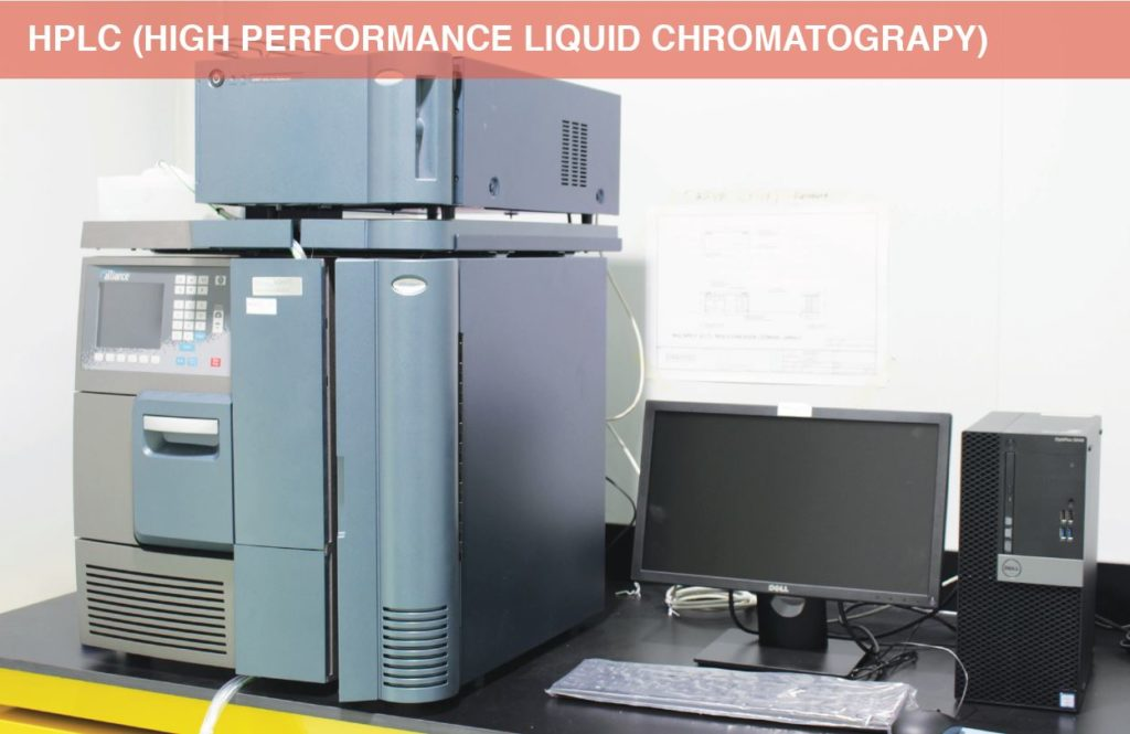 HPLC (High Performance Liquid Chromatograpy)
