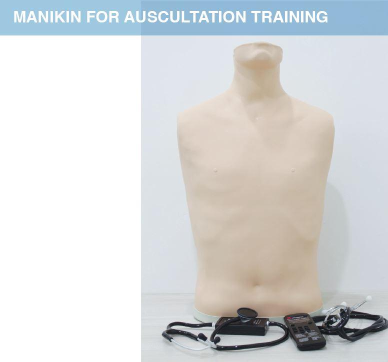 Manikin for auscultation training