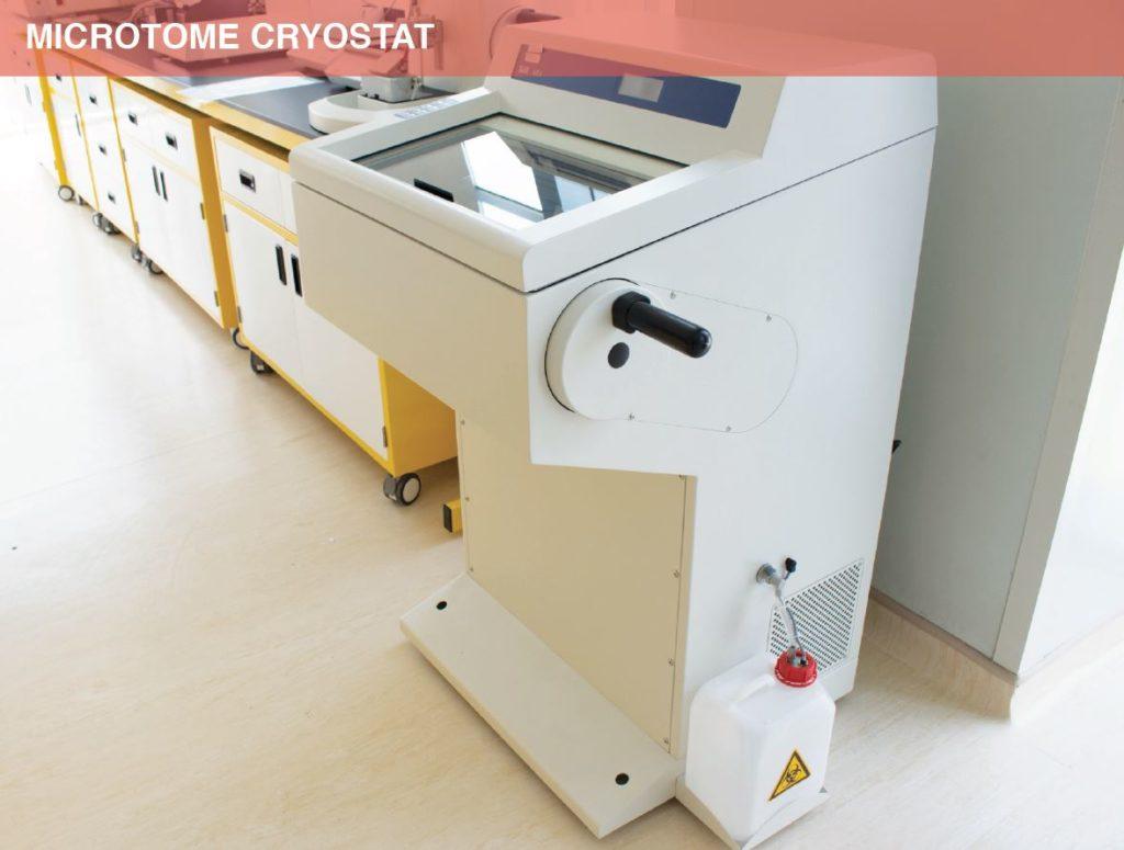 Microtome cryostat